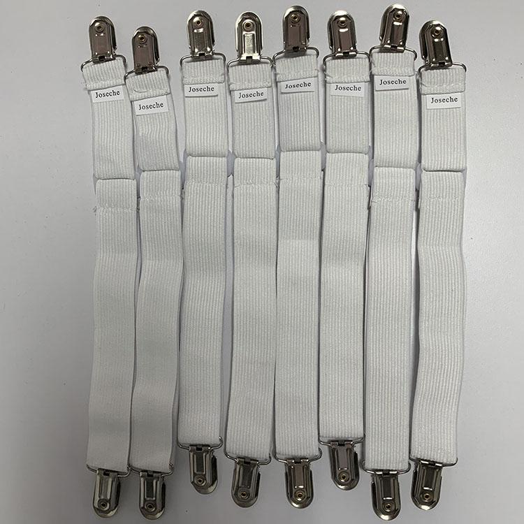 8pcs Fitted Bed Sheet Holder Grip Mattress Gripper Clip Fastener Sheet Hold Set